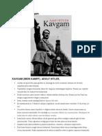 Adolf Hitler – Kavgam