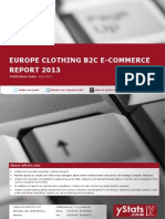 Brochure_Europe Clothing B2C E-Commerce Report_2013