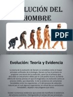 (Evolucion Del Hombre)
