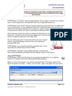 A PDF Merger Manual