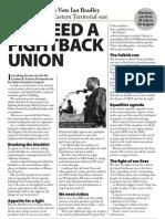 Vote Ian Bradley 2013 -  leaflet