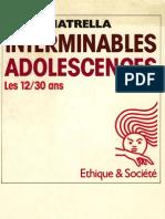 Anatrella Tony - Interminables Adolescences