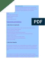 Algunas actividades de reeducación (1)