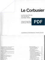 Le Corbusier Complete Works in Eight Volumes Vol. 8 - 1965-1969