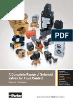Solenoid valve Parker catalogue
