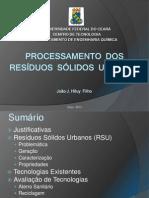 Processamento de RSU(1)