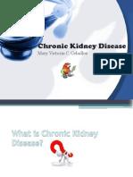 Chronic Kidney Disease- Bless Report