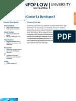 Informatica PowerCenter 9x Developer II Training Data Sheet