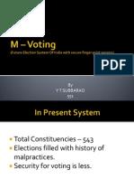 M-Voting