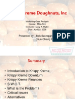 Krispy Kreme-Case Study Solution Finance.ppt