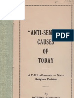 Edmondson Robert Edward - Anti-Semitic Causes of Today