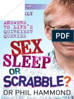 Sex, Sleep or Scrabble? by Dr Phil Hammond Extract