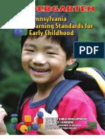 Pennsylvania Kindergarten Standards