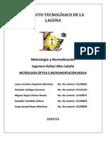 Metrologia Optica e Inst