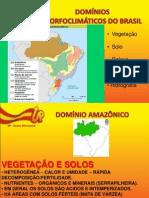 2012 - Geografia - Rodrigo - Domínios Morfoclimático - Parte I e II - 3º Ano e Pré