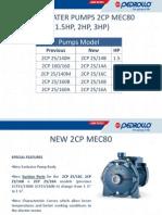 2CP Pumps (Pedrollo) Italy