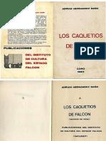 Libro LOS CAQUETIOS DE FALCÓN - Adrian Hernandez Baño
