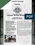 CrossFit Tehachapi PDR 5 Week Aug 13