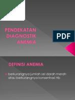 Pendekatan Diagnostik Anemia