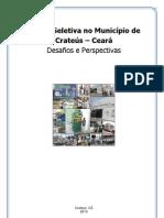 Relatório Coleta Seletiva Crateús 2012_2013