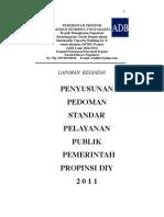 pedoman Standar Pelayanan Publik