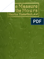 The measure of the hours