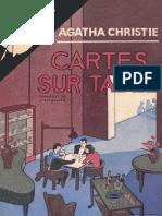 Cartes sur table - Agatha Christie
