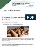 69 Dicas de Sexo Feitas Por Elas Para Eles _ Dicas de Mulher Moderna