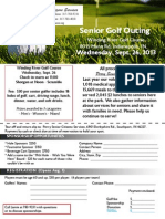 2013 Golf Outing Reservation Form