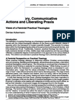 Ackermann_Critical Theory, Communicative Actions and Liberating Praxis