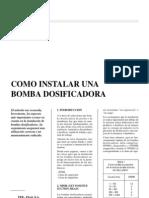 Como Instalar Una Bomba Dosificadora