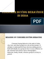 Consumer Buying Behaviourppt