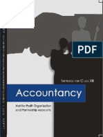 Txt.07 - Std'12 - Accountancy - Not-For-Profit Organisation and Partnership Accounts