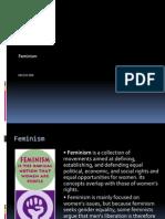 Feminism 2nd information