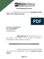 Bloqueio - BacenJud - Pedido de redução a termo penhora