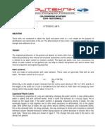 Lab Sheet - Atterberg Limits