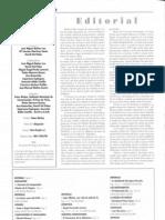 Editorial y sumario Nº 21 (marzo 2007)