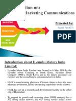 Integreted Marketing Communication of hyundai