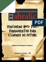 FENÔMENO HARRY POTTER FUNDAMENTOS PARA CÂNONES DO FUTURO - XIII ABRALIC