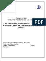 132386032 Industrial Disputes a Case of Maruti Manesar