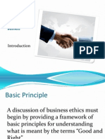 Ethics and Business