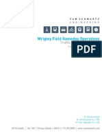 Wrigley Gameday Traffic Management Plan