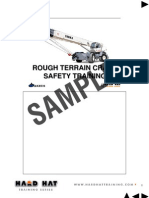 Rough Terrain Crane Instructors Notes