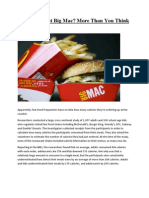 What's in That Big Mac More Than You Think