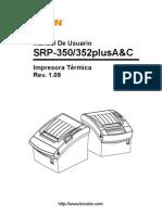SRP-350352plusAC User Spanish Rev 1 09