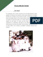 Folklore de Tacna