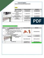 Costos e Inversion Recuperada Equipos Inspeccion Pemex
