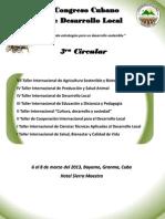 IV Circular Del IV Congreso Cubano de Desarrollo Local (Ultima Version)1