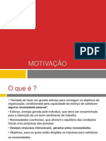 1 - Motivacao  1