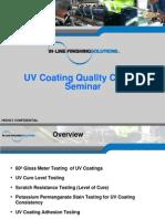 Ilfs Uv Coating Qc Seminar